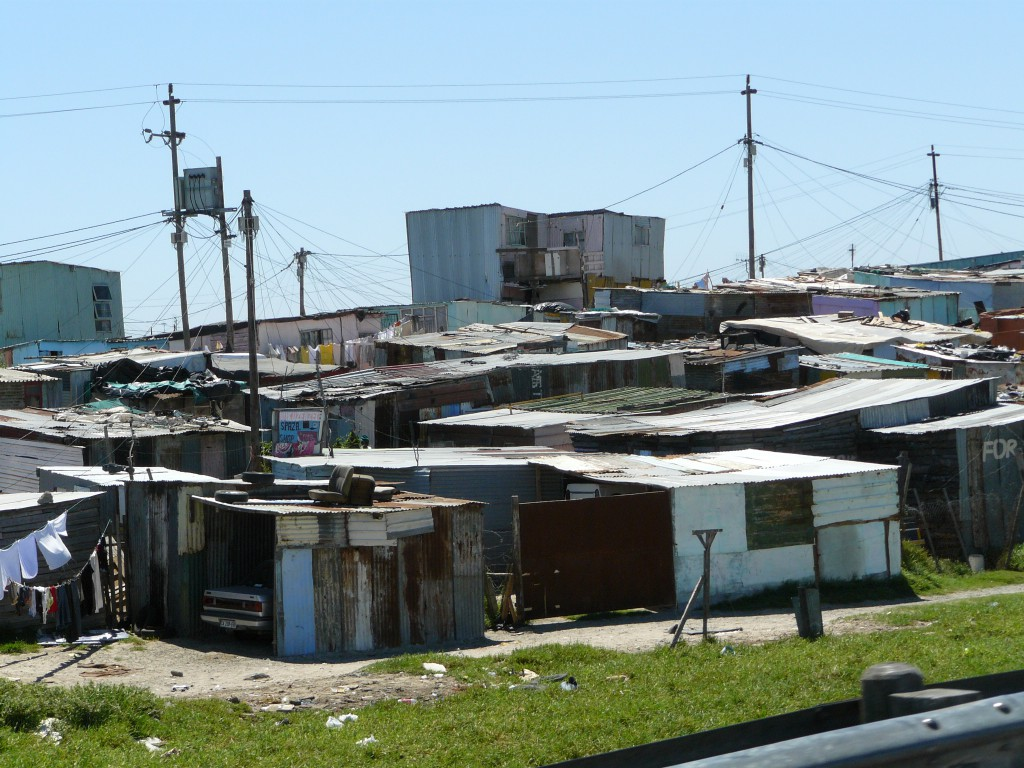 Khayelitsha Township. Picture credit: Chell Hill